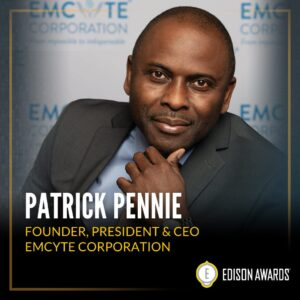 Patrick Pennie Edison Awards honoree Picture